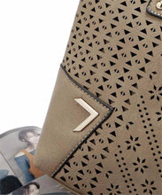Hollow Patterned Tote with Sling Bag - Tusker Clothing