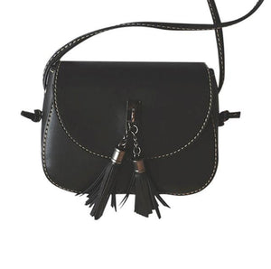 Single Strap Tassle Crossbody bag - Tusker Clothing