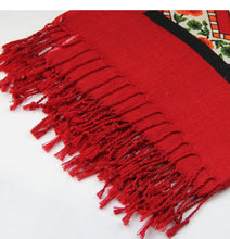 Trendy Boho Delhi Himalayan Wool Plush Scarf Shawl - Tusker Clothing