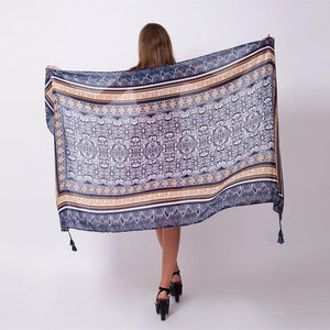 Ethnic Indian Hipster Soft Acrylic Body Scarf Shawl - Tusker Clothing