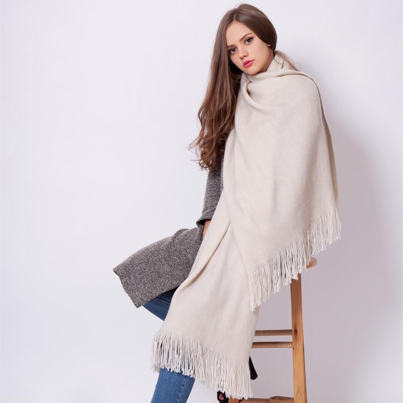 Solid White Indian Cotton Scarf Shawl - Tusker Clothing