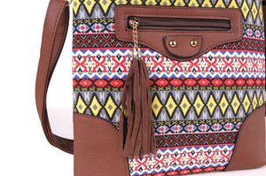 Crossbody Tassel Ethnic Indian Bag - Tusker Clothing