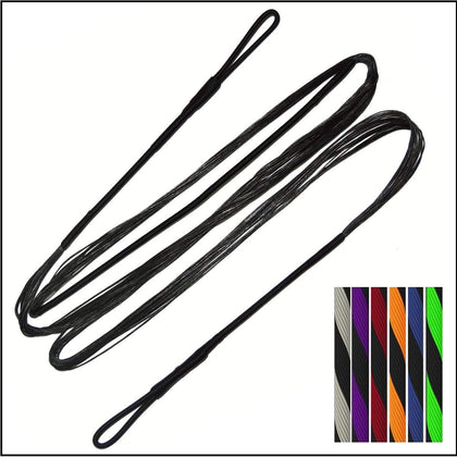 Custom replacement String and cable set for compound bow recurve bow and long bow