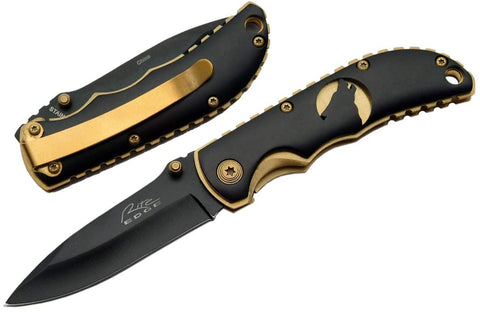 elk ridge folding knife deer