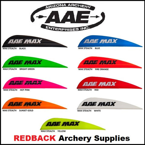 AAE Max hunter stealth vanes