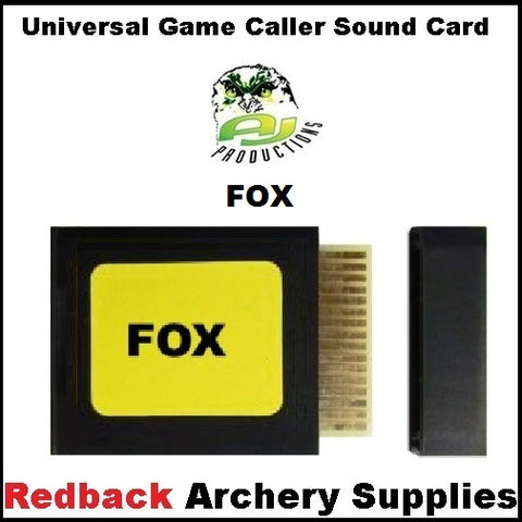 Game Caller Fox Sound Card