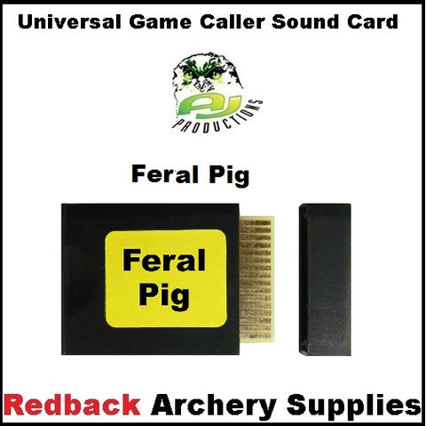 Game Caller Ferral Pig Sound Card