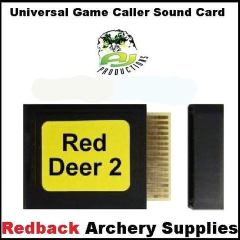 Game Caller Red Deer 2 Sound Card