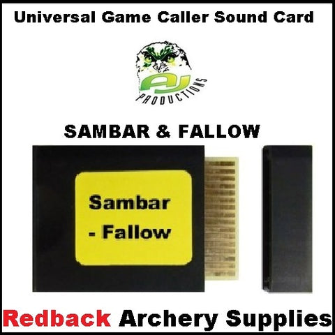 Game Caller Sambar Fallow Sound Card