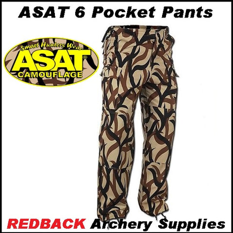 ASAT 6 pocket bdu pants