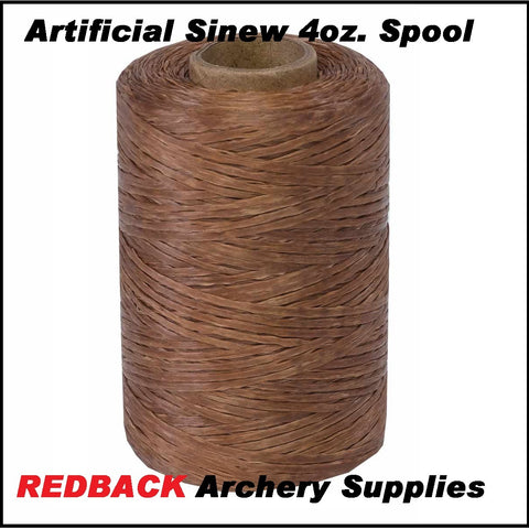 Artificial Sinew 4 oz. Spool 50#