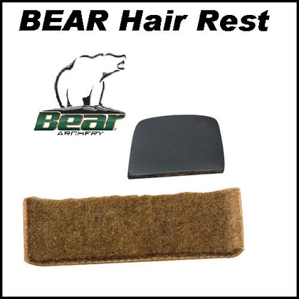 Bear hair rest traditional