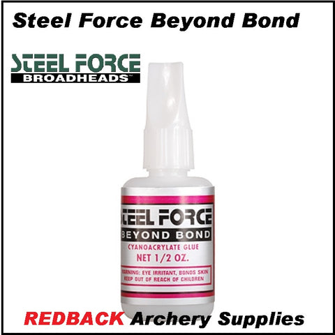 Steel force beyond bond fletching and vane glue for arrows