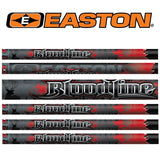 12 Easton Bloodline Arrows made with blazer vanes