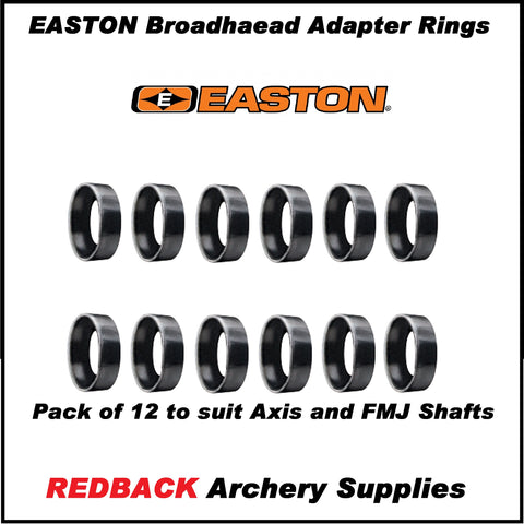 Easton Broadhead adapter rings