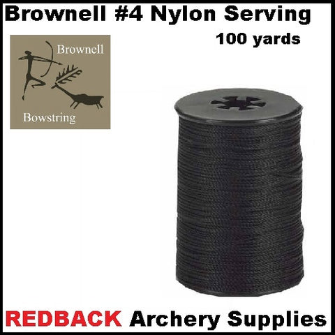 Brownell #4 nylon Serving