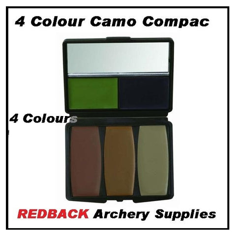4 colour camo compact camo face paint