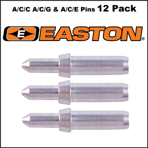 Easton A/C/E A/C/C & A/C/G Pin Inserts 12pk