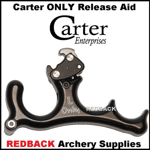 Carter ONLY release aid hinge or back tension release