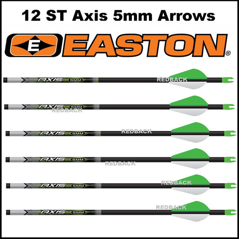 Easton ST Axis 5mm arrows made