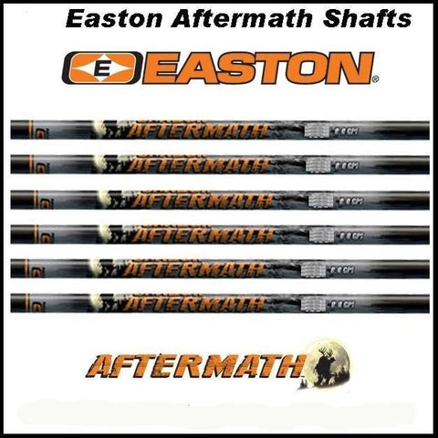 Easton Carbon Aftermath Shafts bulk pack 60