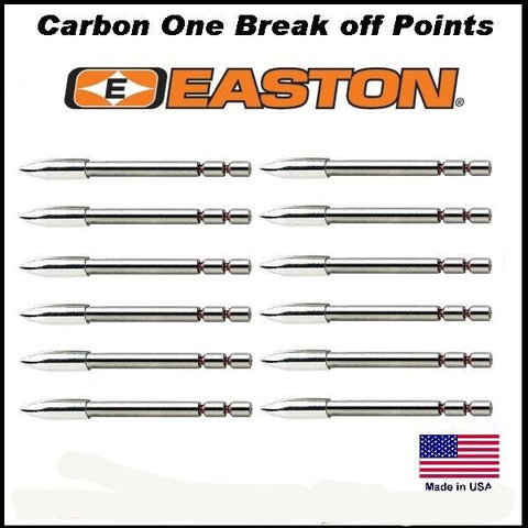 Easton Carbon One break off points
