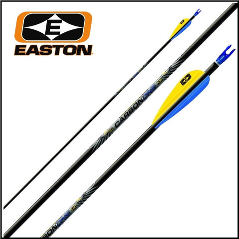 12 easton Carbon One arrows made up
