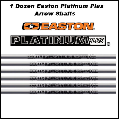 Easton XX75 Platinum Plus Shafts