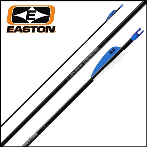 Easton Inspire arrows made up great cheep for target shooting