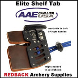 AAE Cavalier Elite Shelf Tab in Super Leather
