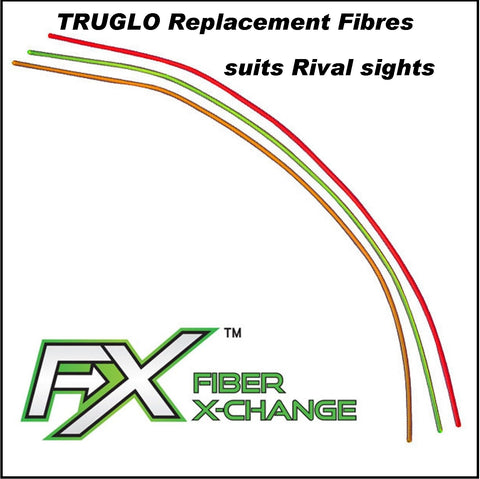 Truglo FX Fibre Exchange pack of 1 Replacement sight fibre