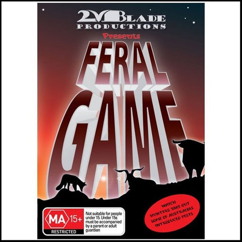 feral game bowhunting DVD