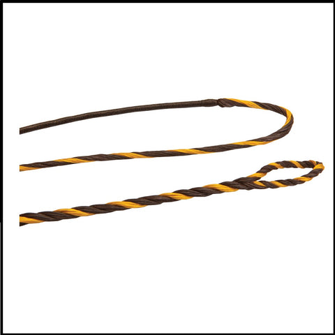 Flemished twist longbow recurve strings