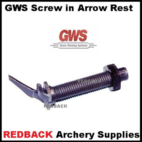 GWS Pro Hunter screw in rest
