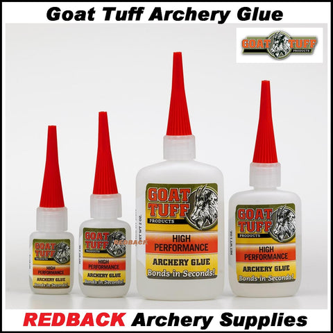Goat Tuff High Performance Archery Glue