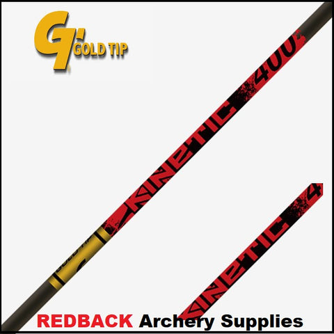 Gold tip kinetic shafts arrow