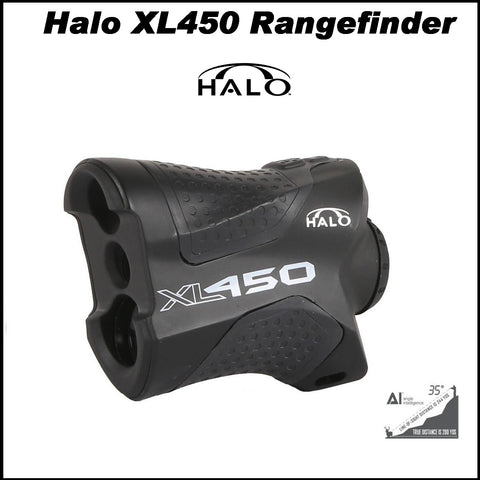 Halo 450 xl rangefinder with AC