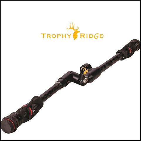 TROPHY RIDGE HITMAN STABILIZER BLACK 8 IN/ 10 IN full kit. COMBO