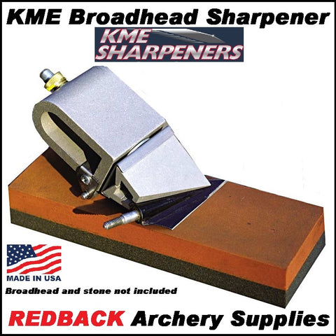 KME Broadhead sharpener