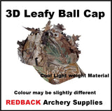 3D leafy cap to go with leafy suit for hunting bird watching
