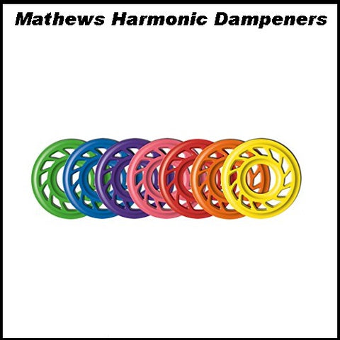 Mathews 3/8 harmonic dampener 2 pack