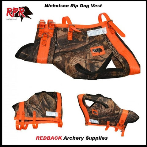 RPR Nicholson RIP Vest for dogging