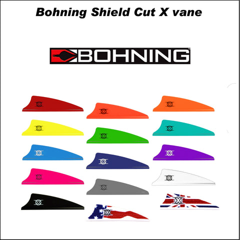 "Bohning Shield Cut 1.75"" X-Vanes 25pk"