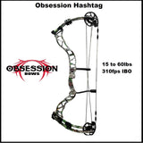 obsession hashtag ladies compound bow