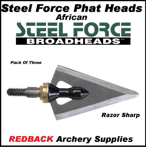 Steel Force Phat Hear African 190grn 3 pack