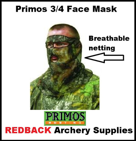 Primos Netting 3/4 face mask
