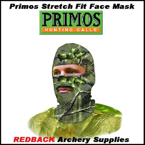 Primos face mask stretch fit