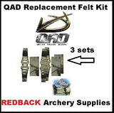 QAD Replacement Felt Kit