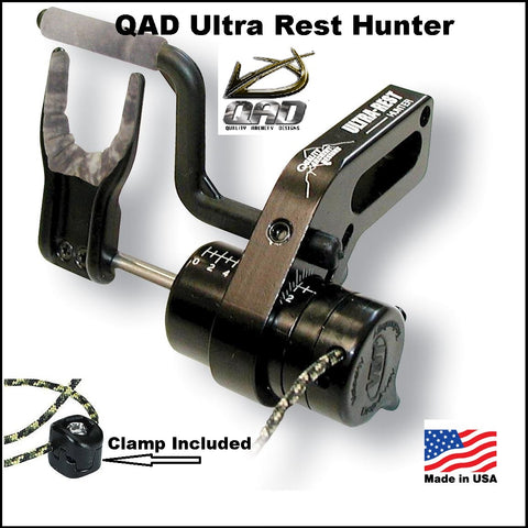 QAD Ultra rest hunter fall away arrow rest
