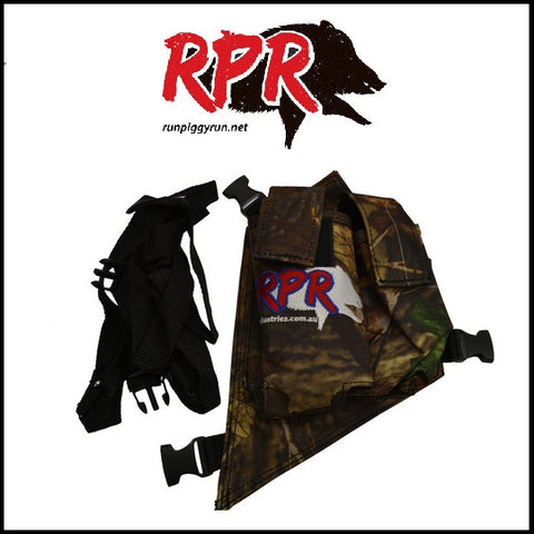 RPR double UHF and GPS Holster